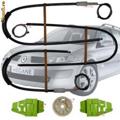 Kit de reparatie macara geamuri electrice Renault Megane 2 fata - Kit reparatie macara