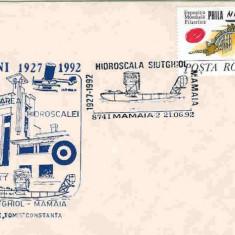 Plic special aviatie - 65 de ani de la infiintarea Hidroscalei Siutghiol - Mamaia