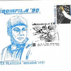 Plic special aviatie - Aeromfila 90, 60 de ani de la primul miting aviatic