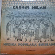 Muzica Populara Sirbeasca, VINIL