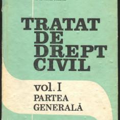 TRATAT DE DREPT CIVIL vol. I Partea generala - Carte de aventura