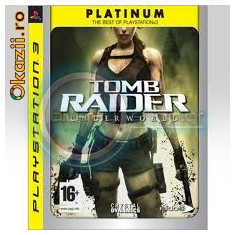 Tomb Raider: Underworld PS3 - Jocuri PS3 Eidos, 16+