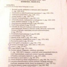 PROPUNERE TEMATICA SI BIBLIOGRAFIE PT CONCURSUL DE REZIDENTIAT 2011