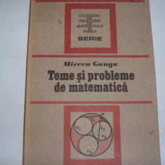 Teme si probleme de matematica Mircea Ganga,7,RF7/3,RF