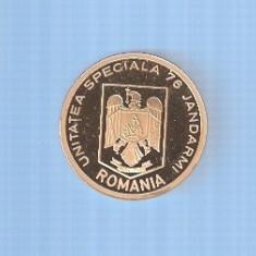 MEDALIA  10 ANI UNITATEA SPECIALA 76  JANDARMI