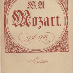 V. CRISTIAN - W. A. MOZART ( CAIET PROGRAM LA 200 ANI DE LA NASTEREA COMPOZITORULUI )