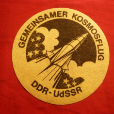Ecuson Cosmos - Zbor Comun DDR-URSS - Jubiliare