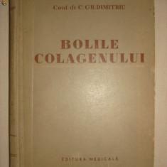 C. GH. DUMITRIU - BOLILE COLAGENULUI - Carte Dermatologie si venerologie