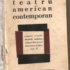 (C729) TEATRU AMERICAN CONTEMPORAN, VOLUMUL AL II-LEA, ELU, BUCURESTI, 1967