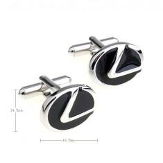 Butoni noi Lexus Logo emblema + cutie simpla cadou ES 350, LS, CT
