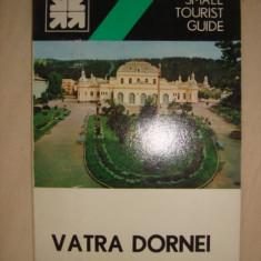 ION POPESCU-ARGESEL, NICOLAE URSULESCU - VATRA DORNEI { ghid turistic, limba engleza } - Carte Geografie