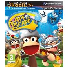 PE COMANDA Ape Escape PS3 MOVE - Jocuri PS3 Sony, Arcade, 3+, Multiplayer