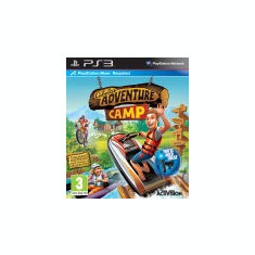 Cabelas Adventure Camp PS3 MOVE KINECT - Jocuri PS3 Activision, Arcade, 3+, Multiplayer