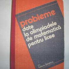 Probleme date la olimpiadele de matematica pentru licee{ed.stintifica},8,rm3