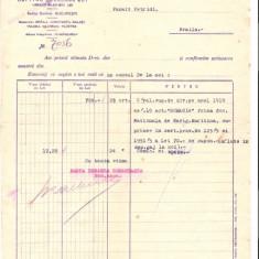 150 Document vechi-24dec1920 -Banca Dunarea Romaneasca, Bucuresti, Braila, Constanta, Galati, Tulcea, Bazargic, Silistra, catre Panait Petridi(grec?), Braila - Pasaport/Document