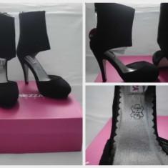 PANTOFI DIN PIELE INTOARSA-ITALIA-NOI!!! - Pantof dama, Fuchsia, Marime: 36