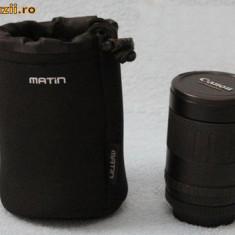 Husa obiectiv antishock DSLR Camera Lens Pouch Case Bag 7x10cm impermeabila camera foto Nikon Canon Sony Pentax expediere gratuita - Geanta Aparat Foto
