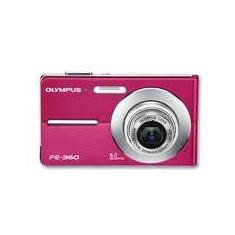 Vand ap foto OLIMPUS FE 360 roz - Aparat Foto compact Olympus