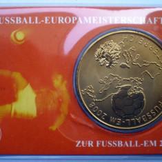 5.337 MEDALIE FOTBAL 2008 AUSTRIA ELVETIA UNC IN FOLDER, Europa