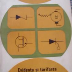 CARTEA ELECTRICIANULUI SI AUTOMATISMULUI DIN INDUSTRIA USOARA-EVIDENTA SI TARIFAREA ENERGIEI ELECTRICE