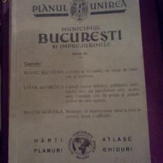 PLANUL UNIREA - Municipiul Bucuresti si Imprejurimile