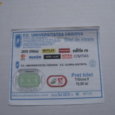 + Bilet sezon 2010/2011 Craiova - Bistrita *** + - Bilet meci