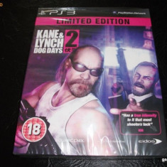Joc Kane and Linch 2, Limited Edition, PS3, sigilat, alte sute de jocuri! - Jocuri PS3 Eidos, Shooting, 18+, Single player