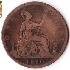 ANGLIA 1 PENNY 1890