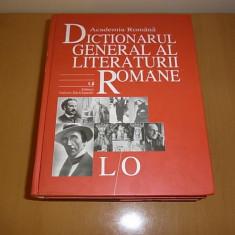 Dictionarul General al Literaturii Romane L-O