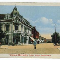 2612 - TURNU SEVERIN, str. tudor Vladimirescu - old postcard - unused