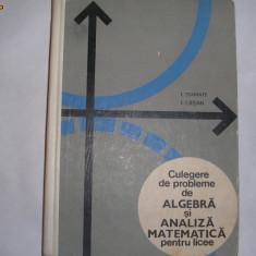 Culegere de probleme de algebra si analiza matematica pentru licee, I.stamate, I Crisan, 9 - Culegere Matematica