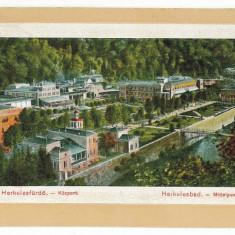 2610 - Baile HERCULANE, Panorama - old postcard - used - 1913 - Carte Postala Banat 1904-1918, Circulata, Printata
