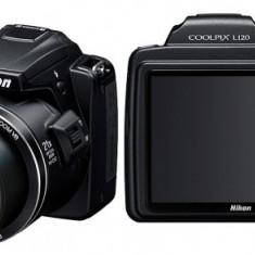 Vand aparat foto digital Nikon Coolpix L120, Negru - Aparat Foto compact Nikon