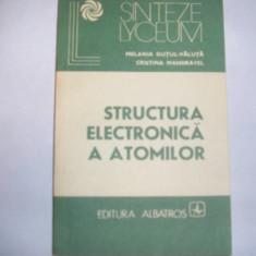 Structura electronica a electronilor, Melania Gutui-Valuta,9