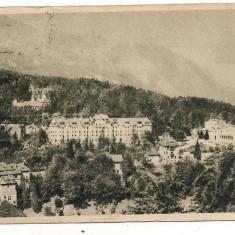 Carte postala-SINAIA-Vedere generala - Carte Postala Muntenia dupa 1918