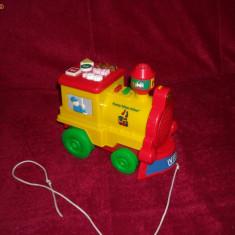 Vtech - Locomotiva muzicala de tras bebelusi 6 luni + Funny Tchou, Tchou  - Limba Franceza