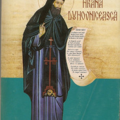 Sf. Cuvios Ioan Iacob Romanul - Hrana duhovniceasca - Carti bisericesti