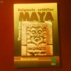 Thomas Gann Enigmele cetatilor Maya - Carte paranormal