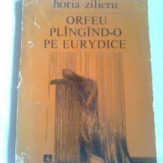 ORFEU PLINGIND-O PE EURYDICE  ~ HORIA ZILIERU