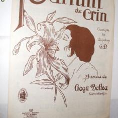 Partitura: -  PARFUM DE CRIN - romanta -  muzica:  Gogu Bottea