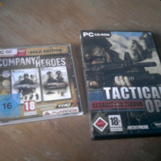 Company of heroes, Tactical Ops - Jocuri PC Thq, Strategie, 18+, Multiplayer