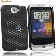 Husa protectie mesh htc wildfire+ folie ecran silicon rigid antiradiatii g8 expediere gratuita - Husa Telefon