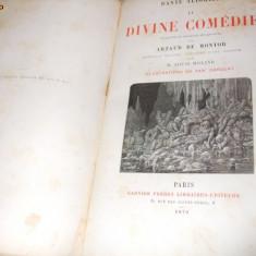 LA DIVINA COMEDIE - DANTE  ALIGHIERI - Illustrasion de YAN DARGEANT- PARIS, 1879