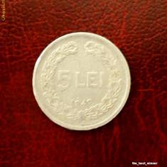 Romania - moneda 5 lei 1949 - Moneda Romania