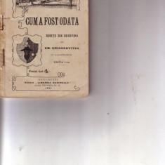 E.M.GRIGOROVITZA-SCHITE DIN BUCOVINA - Carte Editie princeps