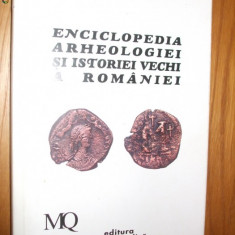 ENCICLOPEDIA ARHEOLOGIEI SI ISTORIEI VECHI A ROMANIEI (III)  M_Q -  C. Preda
