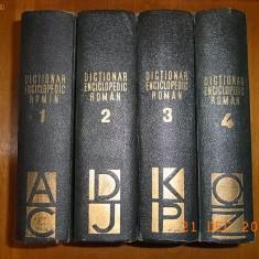 DICTIONAR ENCICLOPEDIC ROMAN (Vol. 1-4)