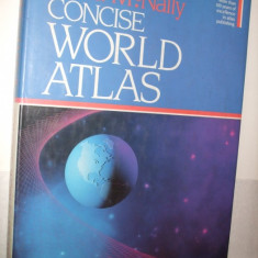 CONCISE WORLD ATLAS --- Rand Mc. Nally -- United States of America, 1987