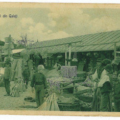 2296 - GALATI - Piata - animata - old postcard - used