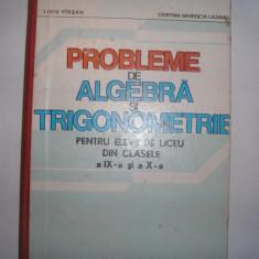 PROBLEME DE ALGEBRA SI TRIGONOMETRIE PT CLS IX SI X, Liviu Parsan,12